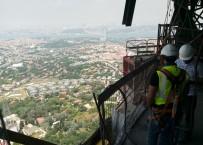 ÇAMLıCA - Çamlıca Kulesinden Büyüleyici İstanbul Manzarası