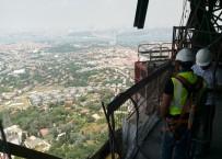 ÇAMLıCA - Çamlıca Radyo-TV Kulesinden İstanbul Manzarası Büyüledi