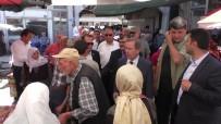 SİVİL POLİS - CHP'li Milletvekil Adayı Şener, Polis Eşliğinde Esnaf Ziyareti Gerçekleştirdi