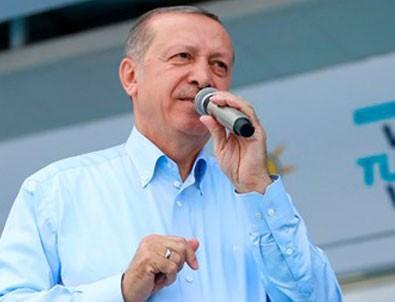 Cumhurbaşkanı Erdoğan'dan İnce'ye prompter yanıtı