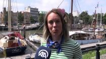 ESKİ MİLLETVEKİLİ - 'Gazze'ye Özgürlük Filosu' Rotterdam'da