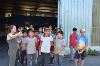 AMBALAJ ATIKLARI - Öğrenciler Ambalaj Atıkları Toplama Ve Ayırma Tesisini Gezdi