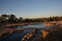 FUTBOL SAHASI - Ortaköy Biyolojik Göleti Tamamlanıyor