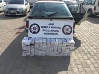 Otomobilden 2 Bin 500 Paket Kaçak Sigara Çıktı