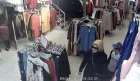 MAĞDUR KADIN - (ÖZEL) Müşteri Kılığındaki Hırsızlar Altın Dolu Çantayı Böyle Çaldı
