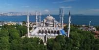 SULTANAHMET CAMII - ( Özel) Sultanahmet Cami'nde Dev Restorasyon Havadan Görüntülendi