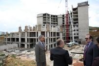 Yeni Bayburt Devlet Hastanesi İnşaatı Hızla Devam Ediyor