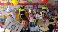 TRAFİK EĞİTİMİ - 'Ailemin Ve Ülkemin Trafik Polisiyim Projesi' Kapsamında 3 Bin 601 Öğrenciye Eğitim Verildi