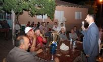 İSHAKÇELEBI - AK Parti'nin Genç Milletvekili Adayları Kapı Kapı Dolaşıyor