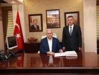 Başbakan Yıldırım Vali Elban'ı Ziyaret Etti