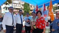 İyi Parti - Başkan Saka, Seçim Stantlarını Ziyaret Etti