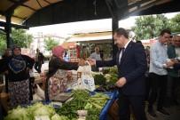 ÇOCUK MECLİSİ - Başkan Ve Minikler Bez Torba Dağıtarak Çevre Gününe Dikkat Çekti