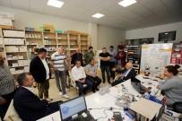 İVEDİK ORGANİZE SANAYİ BÖLGESİ - Başkan Yaşar'dan Sel Mağduru İşletmelere Ziyaret