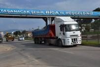 MUAMMER AKSOY - Biga'da Otomobil İle Tır Çarpıştı Açıklaması 1 Yaralı