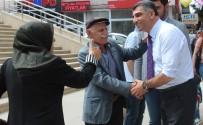 CHP'li Erol, Sokak Sokak Gezerek Seçim Çalışması Yapıyor