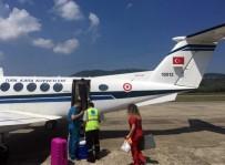 İLKAY - Donörden Alınan Organlar Askeri Uçakla İstanbul'a Gönderildi