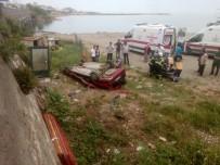 Fatsa'da Trafik Kazası Açıklaması 3 Yaralı