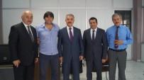OKAN YıLMAZ - Gol Kralı Okan Yılmaz'dan MHP'ye Destek Ziyareti
