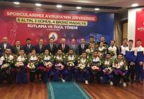 AVRUPA ŞAMPİYONU - İBB Başkanı Mevlüt Uysal'dan Başarılı Sporculara Ödül