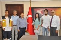 Karaman'da Boğulan Genci Hayata Döndüren Sağlık Ekibine Teşekkür Belgesi