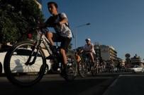 KERVANSARAY - Kuşadası Bisikletçiler Doğa İçin Pedal Çevirdi