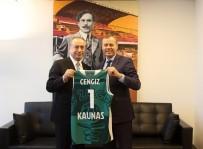 SPOR KOMPLEKSİ - Litvanya Büyükelçisi'nden Mustafa Cengiz'e Ziyaret