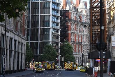 Londra'da yangın alarmı!