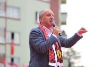 EMEKLİ MAAŞI - Muharrem İnce Eskişehir'de Halka Hitap Etti