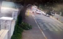 İHLAS - Polisten Kaçan Şüpheliler, Motosiklete Böyle Çarptı