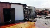 Sunta Fabrikasında İşçilerin Kaldığı Konteynerde Patlama