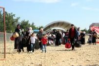 ÖZGÜR SURİYE ORDUSU - Suriyelilerin Vatan Hasreti Sıcaklık Dinlemiyor