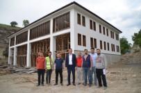 İTFAİYE MÜDÜRÜ - Ürkmezer, İtfaiye Binasının İnşaatını İnceledi