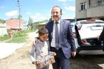Vali Pehlivan Aşağı Kışlak, Göldere Ve Yeniköy Köylerini Ziyaret Etti