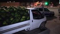 POLİS MERKEZİ - Adana'da Karpuz Hırsızlarına Operasyon