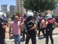 Adana'da toplu taşımacıların taşlı sopalı silahlı kavgası