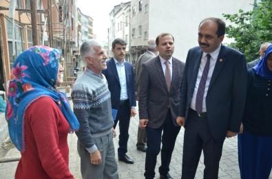 AK Parti Trabzon Milletvekili Balta Seçim Çalışmalarına Ara Vermeden Devam Ediyor