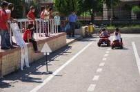 TRAFİK EĞİTİMİ - Anaokullarına Oyun Parkuru Yapıldı