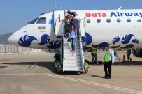 UÇAK SEFERLERİ - Azerbaycan'dan Gazipaşa'ya İlk Uçuş