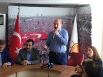 BÜROKRASI - Bakan Soylu Ak Parti Bayrampaşa İlçe Başkanlığı'nı Ziyaret Etti
