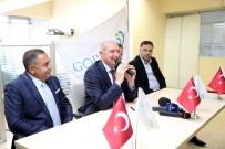 BAŞKANLIK SİSTEMİ - Başkan Mevlüt Uysal, Gaziosmanpaşa'da Ziyaretlerde Bulundu