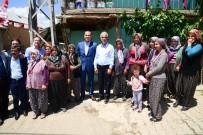 HÜSEYIN SÖZLÜ - Başkan Sözlü Tufanbeyli'de