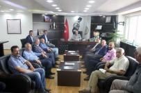 ROMAN VATANDAŞLAR - CHP Milletvekili Adayları Başkan Acar'ı Ziyaret Etti
