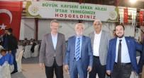 MUSTAFA ELİTAŞ - Elitaş, Kayseri Şeker Çiftçileri İle Şeker Sofrasında Buluştu
