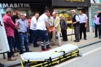 KUYUMCU DÜKKANI - İş Yeri Asansörü Düştü Açıklaması 1 Yaralı