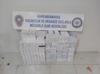 PİRİ REİS - Kahramanmaraş'ta Kaçak Sigara Operasyonu