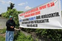 Komşunun Kasasında Sakladığı 80 Bin TL'si Çalındı, Bu Pankartı Astı