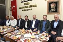 HİLMİ YAMAN - Mamak Belediye Başkanı Mesut  Akgül, Ankaralılarla Sahur Yaptı