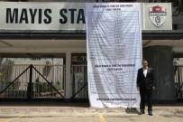 MANISASPOR - Manisaspor Başkanı Budak'tan Stat Kapısına İlginç Pankart