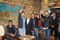 KAHVEHANE - MHP Sivas Milletvekili Adayı Özyürek Seçim Çalışmalarını Sürdürüyor