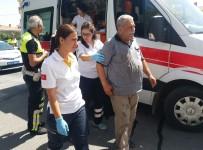 YUSUF TURAN - Milas'ta Motosiklet Yayaya Çarptı; 2 Yaralı